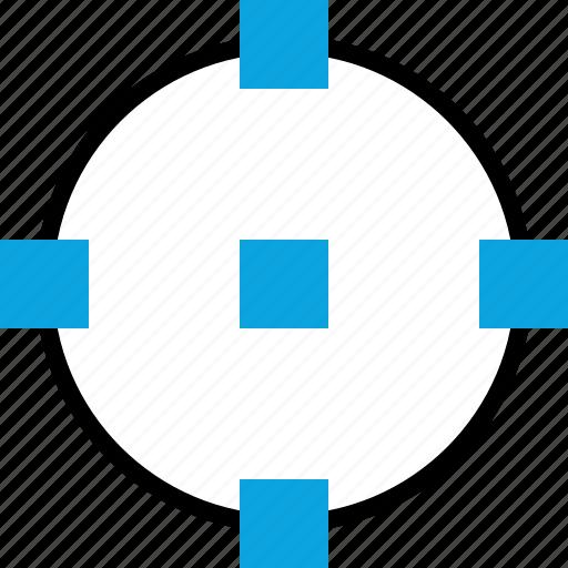 corners, design, graphic, target icon