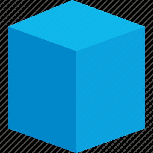 block, creative, cube, design icon