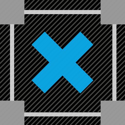 boxed, create, delete, edit icon