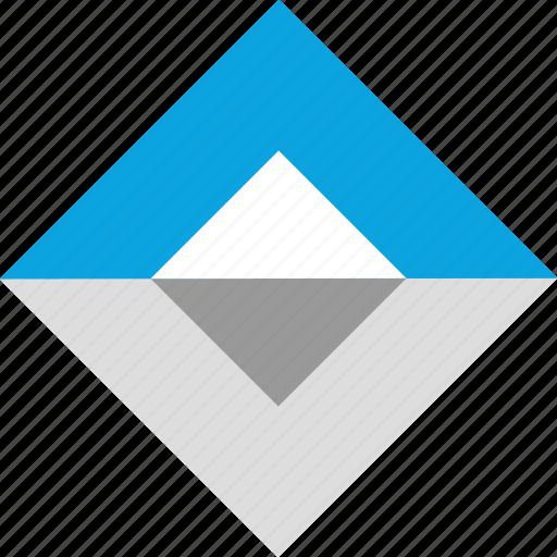 creative, cube, eye, target icon