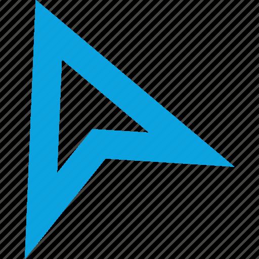 arrow, creative, point, pointer icon