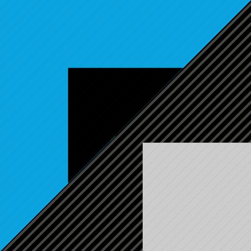 angle, design, graphic, sharp icon