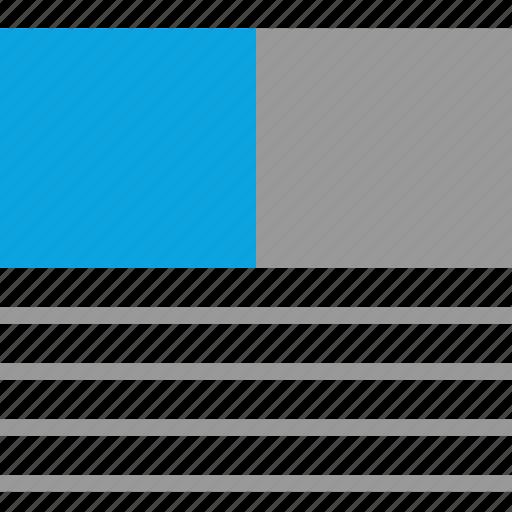 design, graphic, mockup, news icon