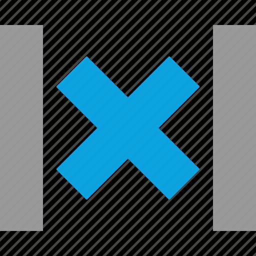 delete, design, graphic, sides icon