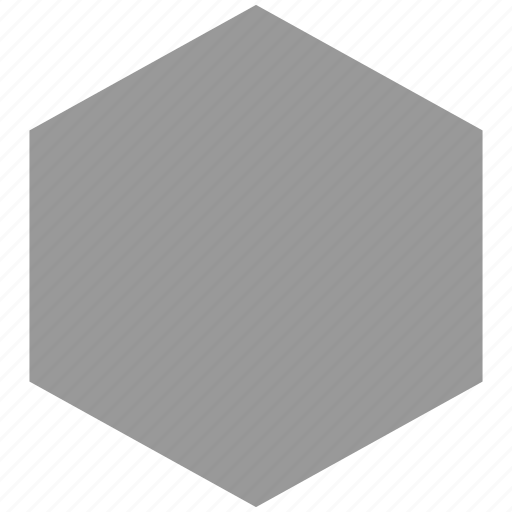 abstract, create, design, hexagon icon