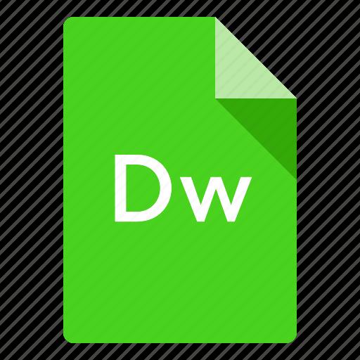 adobe, cc, creative, dreamweaver, file, files, program icon