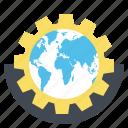 web, globe, setting, wrench, browser, gear, internet