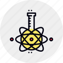 bulb, chemistry, examination, laboratory, research, study icon