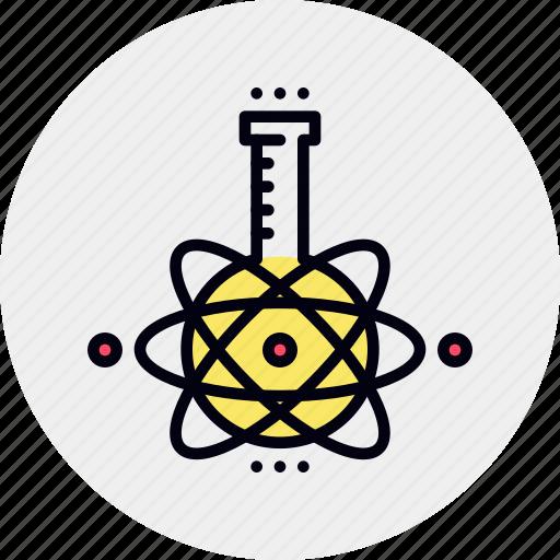 bulb, chemistry, examination, laboratory, research, study icon