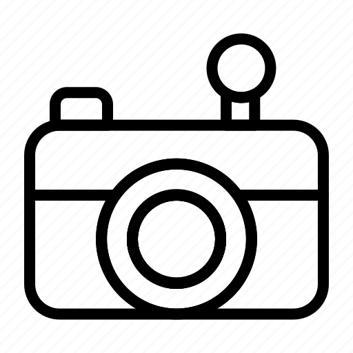Icon, line, 2, camera icon - Download on Iconfinder