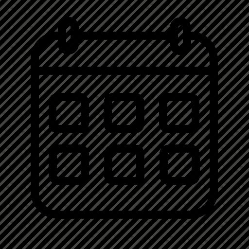 Icon, line, deadline icon - Download on Iconfinder