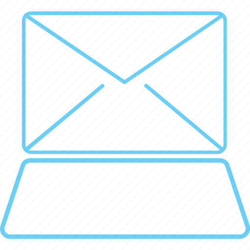 creative, email, iconk, imac, laptop, mail, message icon