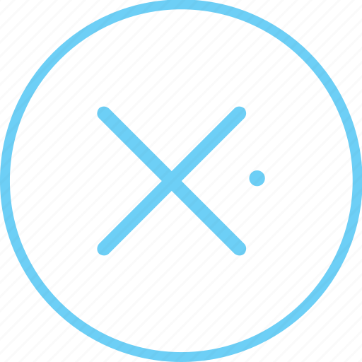 Cancel, circle, close, creative, cross, end, iconk icon - Download on Iconfinder
