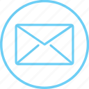 circle, creative, iconk, inbox, message, new, text icon