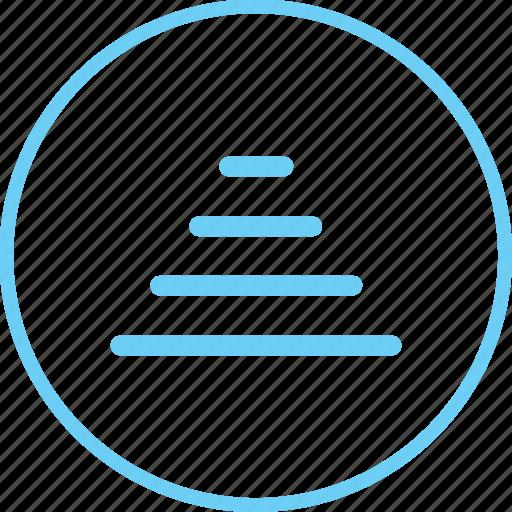Circle, creative, iconk, stair, status, upward, wifi icon - Download on Iconfinder