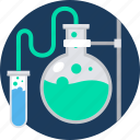 experiment, laboratory, physics, research, science, test, tube icon