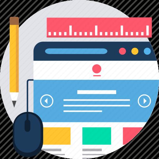 design, designing, interface, page, tab, web, window icon