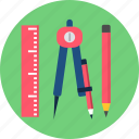 design, education, learning, school, stationary, study, tool icon