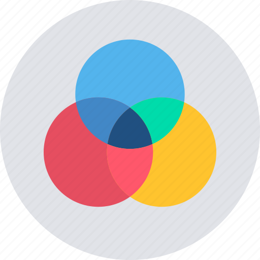 Shape, circle, creative, design, drawing, graphic, round icon - Download on Iconfinder