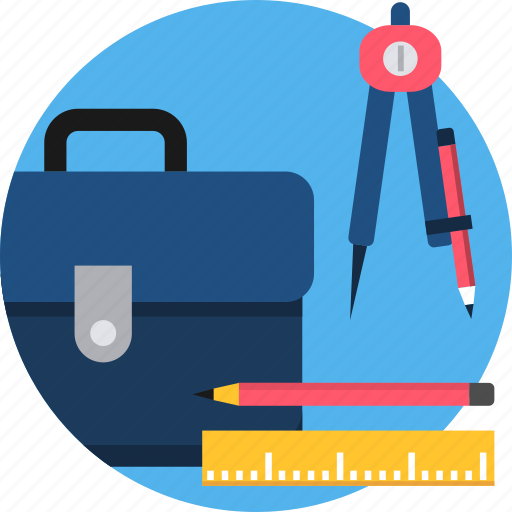 business, desk, office, stationary, stationery, work icon