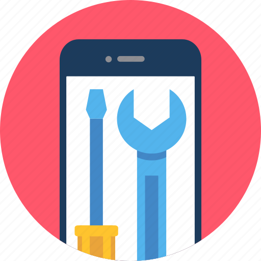 Mobile, settings, cell, configuration, phone, setting, smartphone icon - Download on Iconfinder