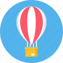 air, balloon, bubble, delivery, hot, transportation icon