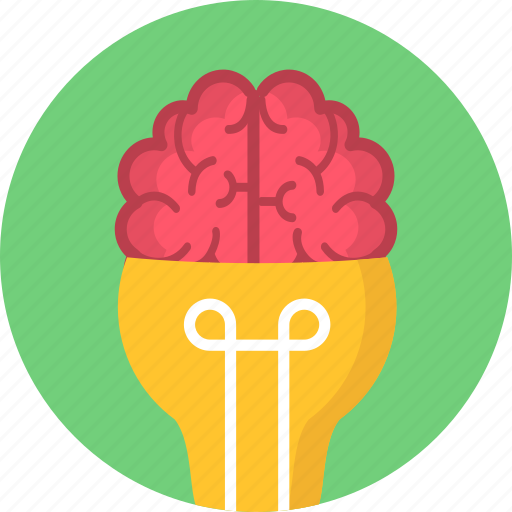 bulb, business, creative, idea, light, marketing, shape icon