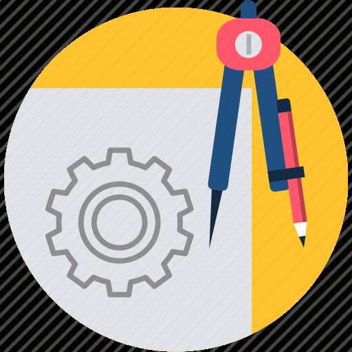 art, design, graphic, paint, shape, tool, work icon
