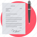agreement, business, contract, deal, partnership, signature icon