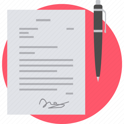 Signature, agreement, business, contract, deal, partnership icon - Download on Iconfinder