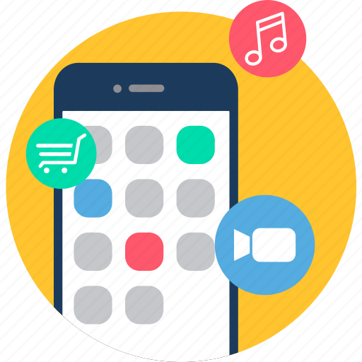 Apps, smartphone, app, application, mobile, phone icon - Download on Iconfinder