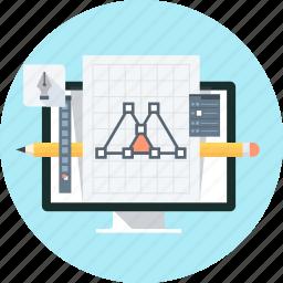 computer graphics, creative, design, edit, graphic, graphics design icon
