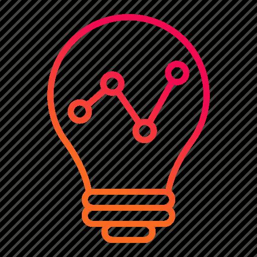 analytics, graph, growth, statistics icon