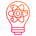 brainstorming, energy, power, solar, system icon