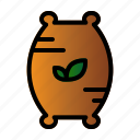 compound, fertilizer, seed, sprout icon