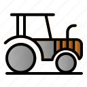 agriculture, farmer, machine, tractor
