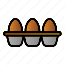 agriculture, egg, farming, protein icon