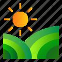 agriculture, farm, landscape, plantation