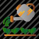 can, farm, garden, watering
