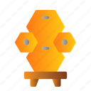 bee, beehive, farming, honey icon