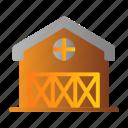 barn, building, farm, farming