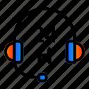 customer, help, operator, support icon