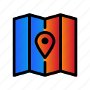 gps, location, map, navigation