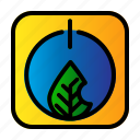ecology, leaf, power, technology icon