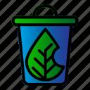 ecology, leaf, recycle, trash