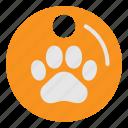 animal, medal, paw, pet, pets