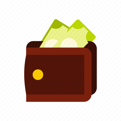 credit, dollar, finance, money, purse, shopping, wallet icon