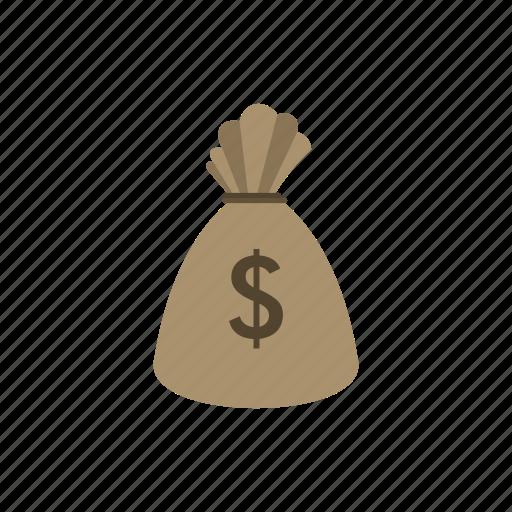 bag, currency, dollar, finance, money, sack, wealth icon