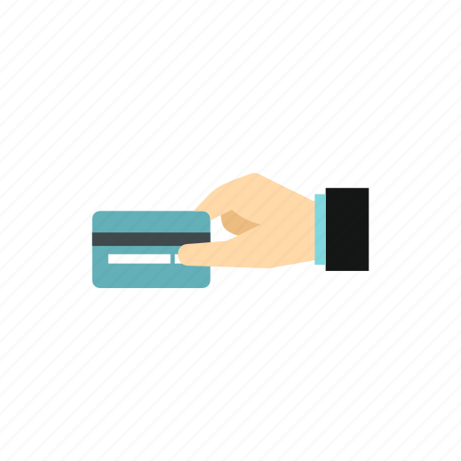 buy, card, credit, finance, hand, money, pay icon