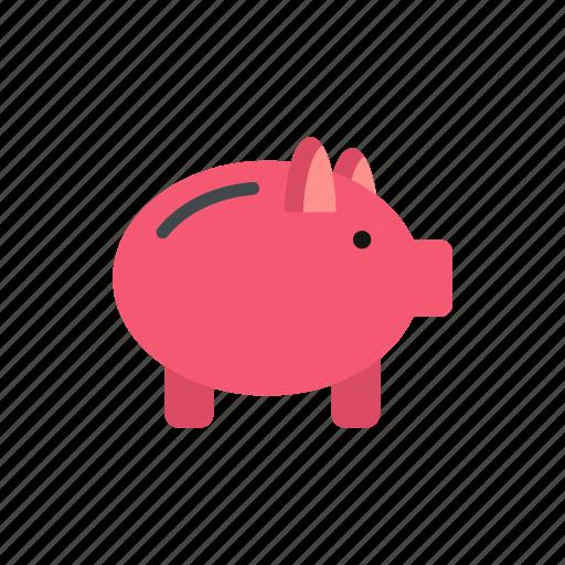 bank, banking, business, finance, money, piggy, saving icon